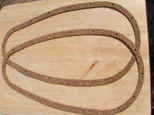2-ORIGINALES-Corcho-chaincase-JUNTAS-BSA-M20-M21-M33-C1-Autentico