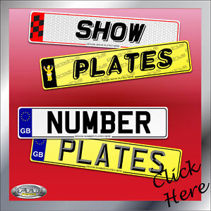 Car Reg Plates, Registration Plates, UK, Show plates