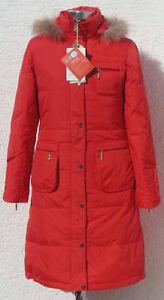 Women-039-s-Lady-039-s-Winter-Long-Down-Coat-SLW6213-Red-XS