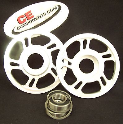 6  Upper Idles Wheels For 08   Up Skidoo Snowmobile Cecomponents Com
