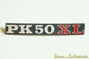 VESPA-EMBLEMA-LOGO-cubierta-lateral-pk50xl-PK-50XL-amp-compartimento-Equipaje