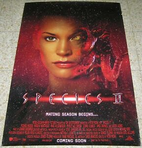 SPECIES-II-Original-1998-Movie-Poster-27x40-Rolled