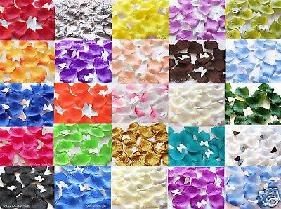 500 Silk Rose Petals Wedding Flowers Decoration Leaves High Quality Us Seller