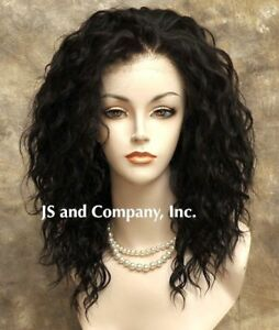 Heat-Safe-French-Lace-Front-Wig-Wavy-Dark-Brown-Wig