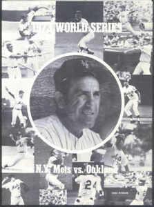 1973 Mets vs Athletics WS Scorecard - Mets Edition