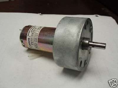 Canon Geared Gearhead Dc Motor 55rpm 100 Oz-in. Load