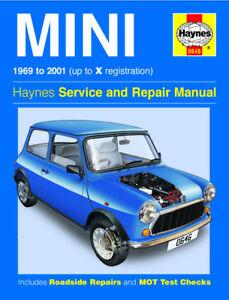 HAYNES-WORKSHOP-REPAIR-MANUAL-FOR-MINI-1969-TO-01-CLASSIC