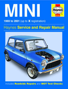 HAYNES-0646-WORKSHOP-SERVICE-REPAIR-MANUAL-GUIDE-MINI-1969-TO-2001-CLASSIC