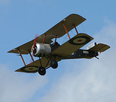 Giant 1/4 Scale Sopwith Pup Plans, Templates and Instructions