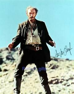 LEE-VAN-CLEEF-SIGNED-PP-PHOTO-GOOD-BAD-UGLY-FEW-DOLLARS