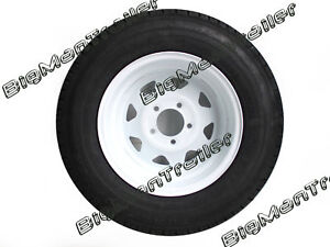 Sunraysia-Rim-and-Tyre-14-034-185-Ford-Wheel-White-Truck-Trailer-Cavaran-RTFW14-185