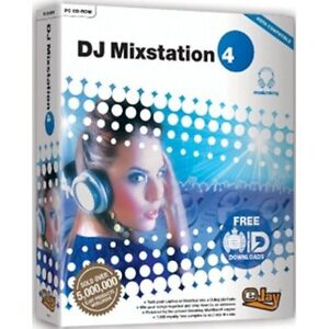 EJAY - DJ Mixstation 4 - Digital Music Mixing Desk PC