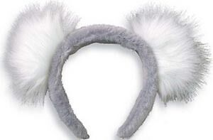 *NEW* Koala Headband With Ears Imaginative Play Dress Ups ...