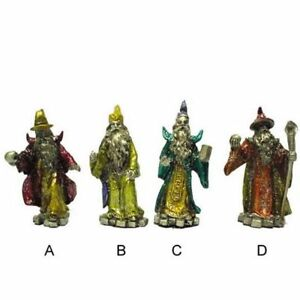 2-PEWTER-WIZARD-FIGURES-figurines-gifts-novelties-toys