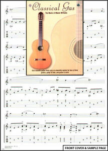 Mason Williams Classical Gas Guitar TAB Music Book +CD
