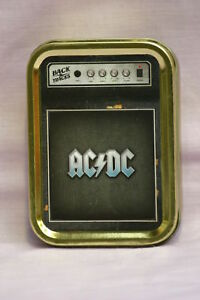 Tobacco-Cigarette-Storage-2oz-Tin-AC-DC-Amp-Classic-Heavy-Rock-Music