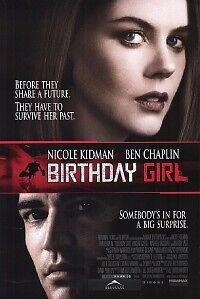Birthday Girl D/s Original Movie Poster One Sheet Mint