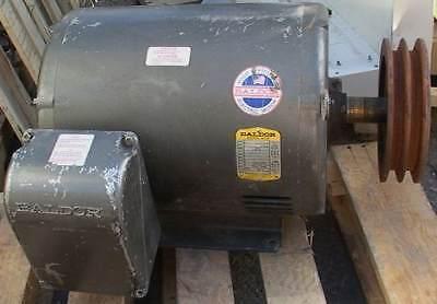 Baldor20hp Electric Motor 2xx460 Voltpulley