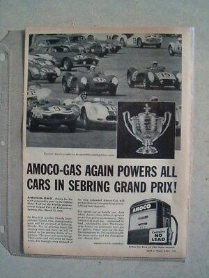 1959 AMOCO AMERICAN OIL COMPANY ***ORIGINAL VINTAGE AD