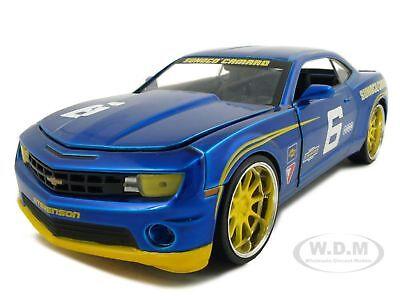2010-CHEVY-CAMARO-SS-6-SUNOCO-BLUE-1-24-DIECAST-MODEL-CAR-BY-JADA-92488