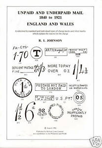 Unpaid-amp-Underpaid-Mail-Postal-Markings-1840-1921-England-amp-Wales-NEW