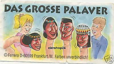 Kompl.-Satz / Das grosse Palaver (D) + BPZ