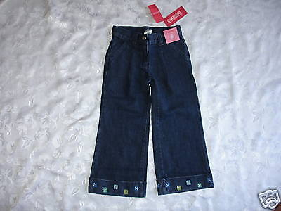 Nice Girls Gymboree Fashion Flower Jeans Sz 4