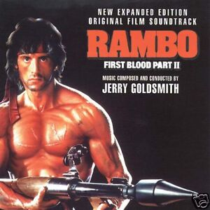 Jerry Goldsmith OST  - Rambo First Blood 2