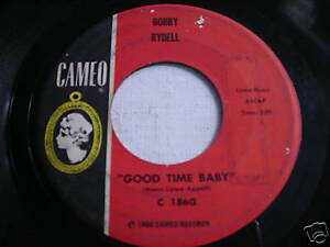 Bobby-Rydell-Good-Time-Baby-Original-1960-45rpm-Cameo