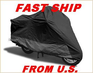 Motorcycle-Cover-w-Air-Vents-Harley-Davidson-Fatboy-FXD-VRod-XL-2