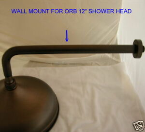 Orb Wall Mount For Rain Showerhead Raincan Shower Mount Ebay