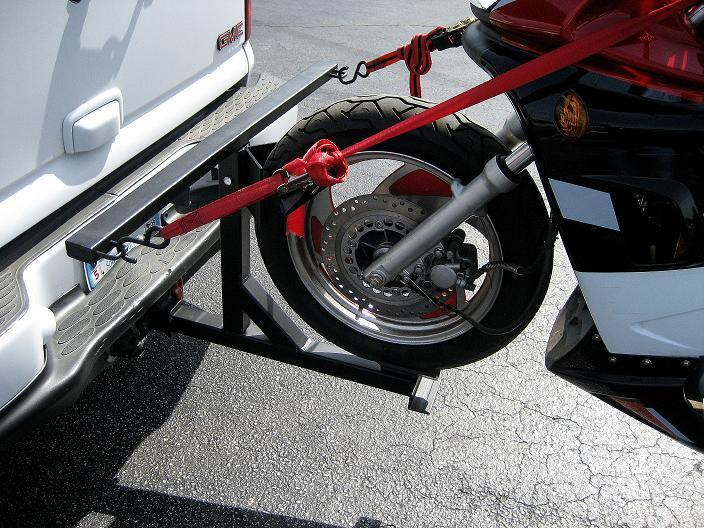 2007 Hitch With 300lbs Motorcycle And Rack Page 2
