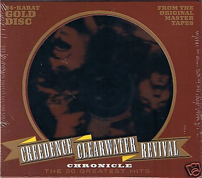 Creedence Clearwater Revival (CCR) Chronicle Vol.1 24 Karat Gold CD Neu OVP Seal