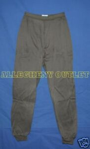 NEW-POLYPRO-Brown-THERMAL-UNDERWEAR-PANTS-Bottoms-ECWCS-Military-XS-X-SMALL-NEW