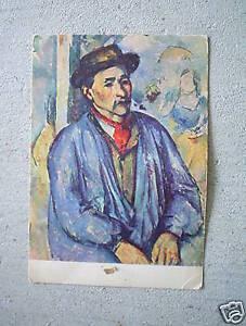Vintage-Cezanne-Paysan-Countryman-Postcard-LOOK