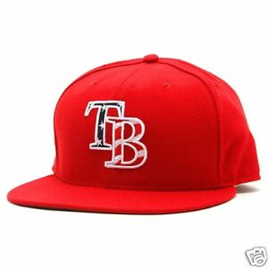 Tampa-Bay-Rays-Stars-Stripes-New-Era-Hat-Cap-7-3-8-MLB