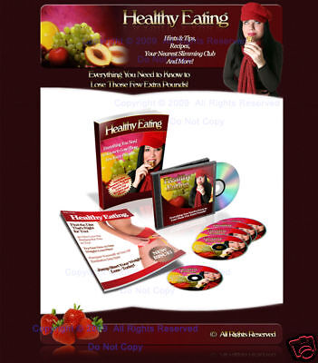 Healthy Eating New Website 25 Plr Articles Ebook   Blog