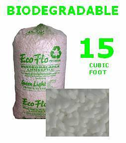 15 Cubic Ft Bag of ECOFLO Biodegradale Loose Fill OFFER