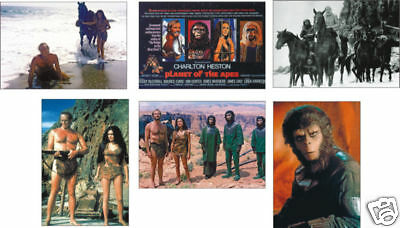 Planet of the Apes 6 Card POSTCARD Set
