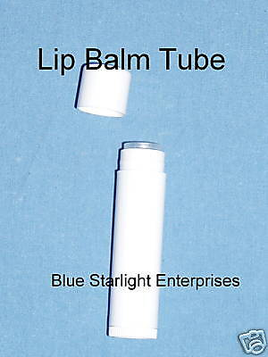 400 new (empty) White lip balm tube solid perfume #300
