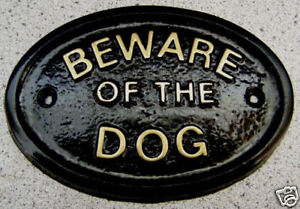 BEWARE-DOG-OR-DOGS-HOUSE-DOOR-PLAQUE-SIGN-COLLAR-LEAD