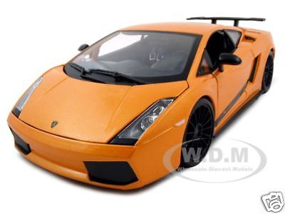 2007 Lamborghini Gallardo Superleggera Orange 1/18 By Maisto 31149