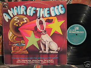 La-DeDas-ARIEL-Coloured-Balls-PIRANA-Ross-Ryan-1974-Oz-LP-HAIR-OF-THE-DOG