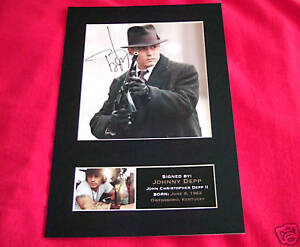 JOHNNY-DEPP-Signed-Autograph-Mounted-Photo-Repro-A4-Print-6