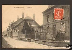 SAINT-OUEN-80-VILLAS-amp-Commerce-L-039-ECONOMAT-en-1912