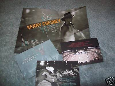 Kenny Chesney 2009 CMA Voter Request & Card Set