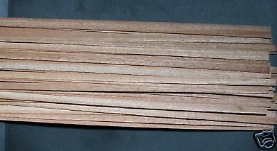 40 Holzleisten Mahagoni 1000x6x0,6 Modellbau