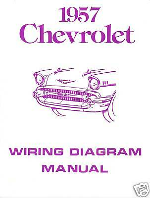 1957 57 Chevrolet Wiring Diagram Manual