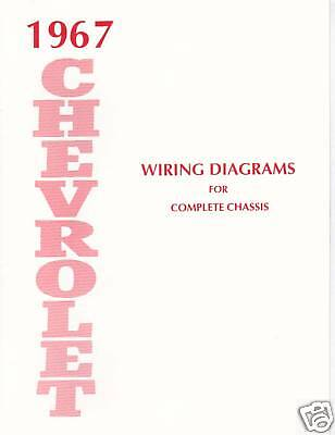 1967 Chevrolet Wiring Diagram Manual