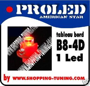 5-AMPOULE-LED-TABLEAU-DE-BORD-B8-4D-ROUGE-QUALITE-N-1